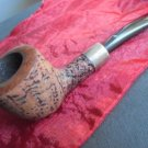 BECKER & MUSICO 15 Years 3 ROMA pipe in sterling silver 925 smoked Original