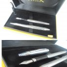 CROSS CLASSIC CENTURY set fountain and ball point pen chromed in gift box