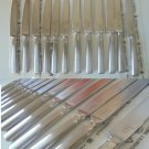 ZWILLING J. A. HENCKELS 6 Fruit knives + 6 big knives New