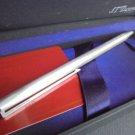 S.T. DUPONT Classique ball pen Silver Rhodium +garantee in gift box Original