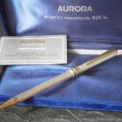 AURORA MAGELLANO ball pen in sterling SILVER 925 in gift box with garantee Original