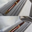 PARKER ELLIPSE ball pen in brown color and gold in gift box Original
