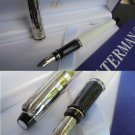 WATERMAN EXPERT DELUXE fountain pen chromed and lacque white color in gift box Original