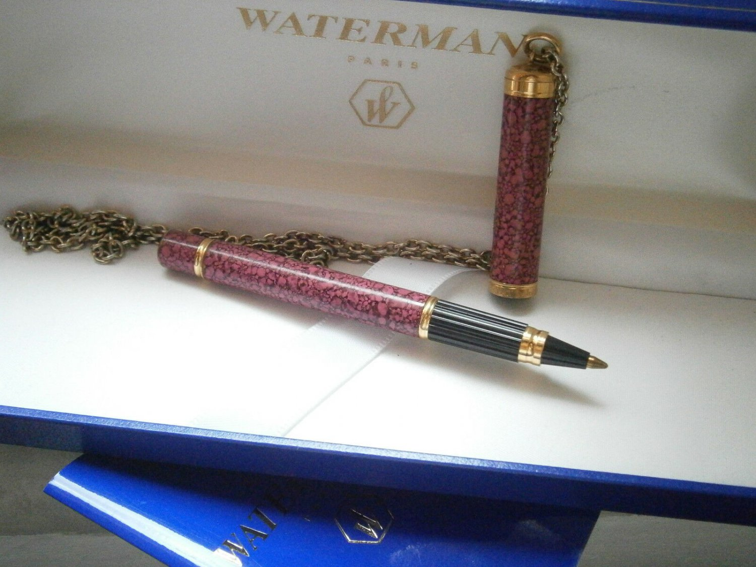 WATERMAN LE LADY ball pen lacque red in gift box with garantee Original