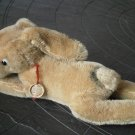 HERMANN TEDDY Germany RABBIT Bunny mohair cm 18 Original from 1950s