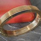 ZOPPINI BRACELET made in Italy Model BREAK in steel gold color Original in gift box