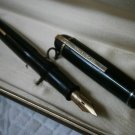 EVERSHARP SKYLINE fountain pen black and gold 14K Original in gift box