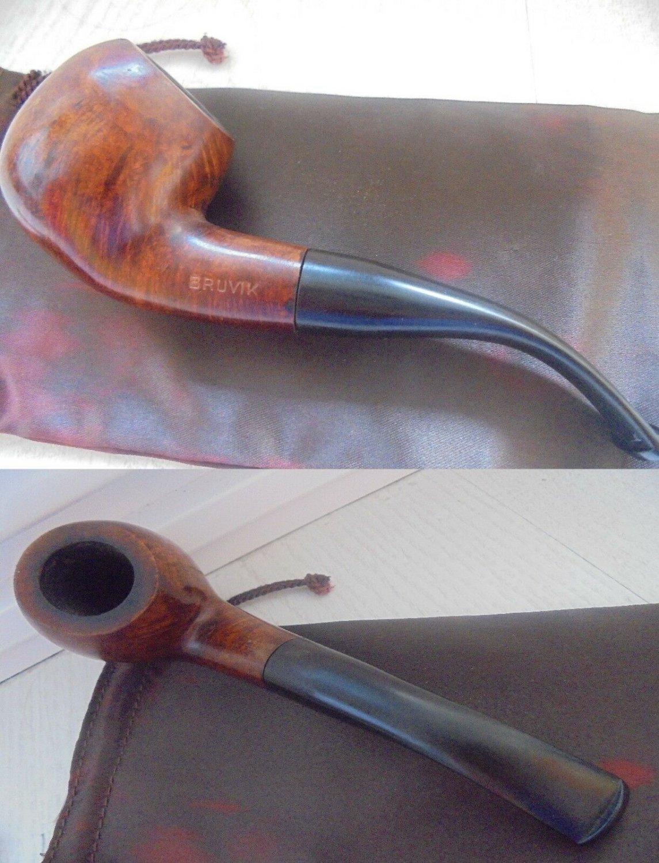 BRUVIK Smoked pipe ORIGINAL