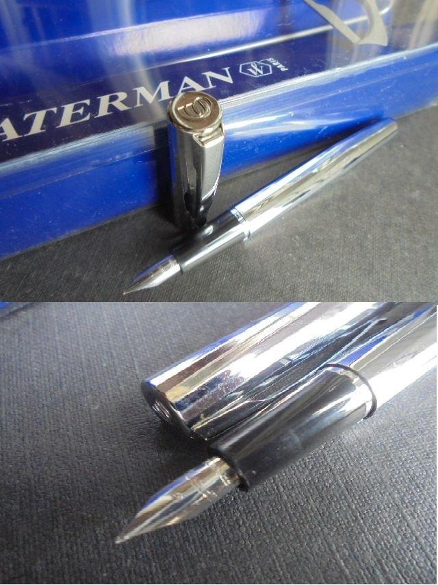 WATERMAN TORSADE fountain pen in steel In gift box Original