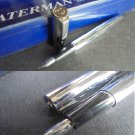 WATERMAN TORSADE fountain pen in steel In gift box Original