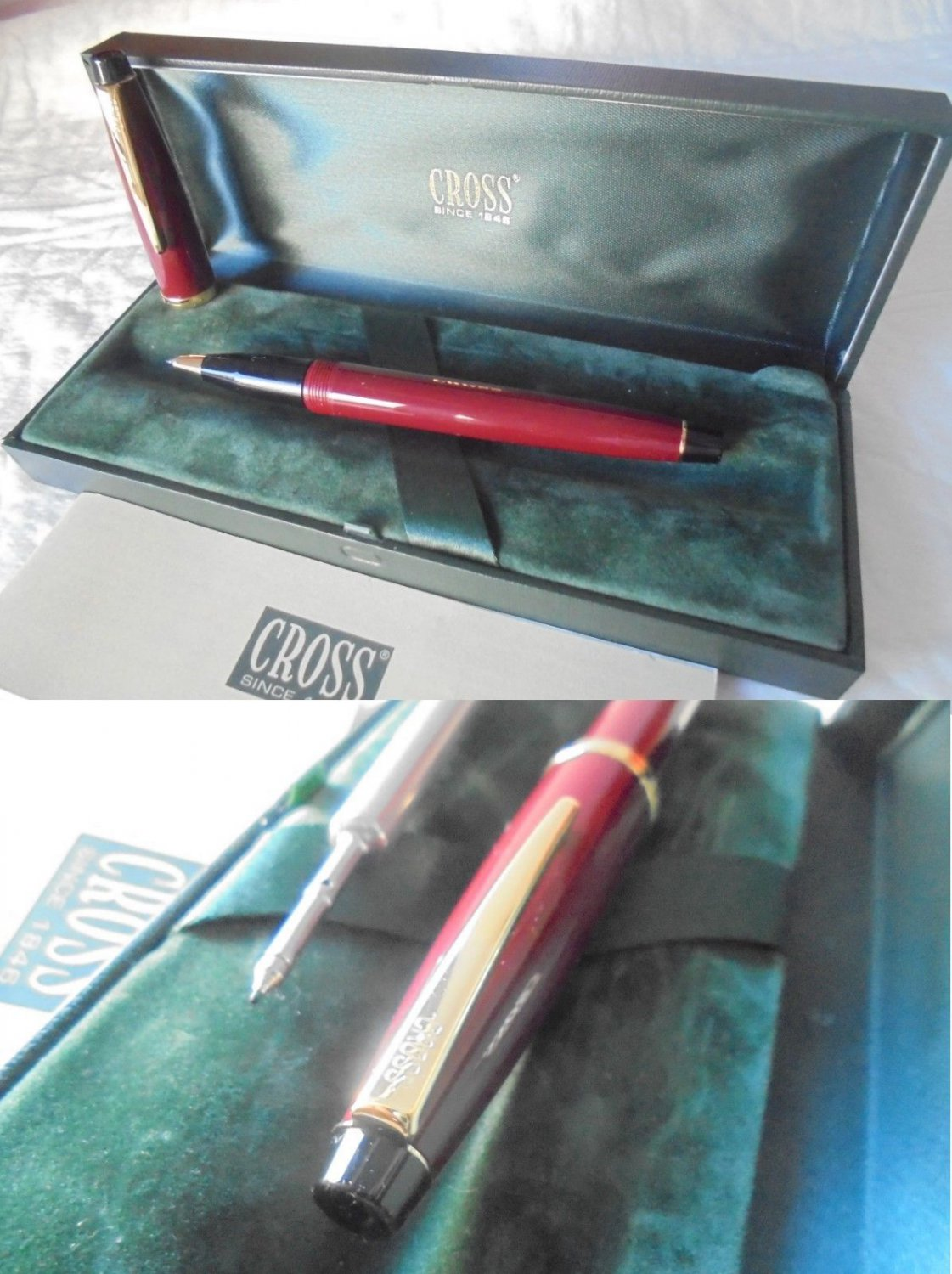 CROSS SOLO RED roller pen In gift box with garantee Original