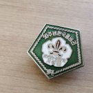 BOY SCOUT JAPAN pin in metal and lacque Original from 1972 for the 50th anniversary