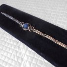 MALFATTI Italy BRACELET in sterling SILVER 925 and lapis lazuli stone Original in gift box