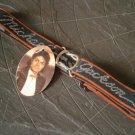 Elastic black BELT MICHAEL JACKSON Billy Jean Triumph 1984 Lee Original