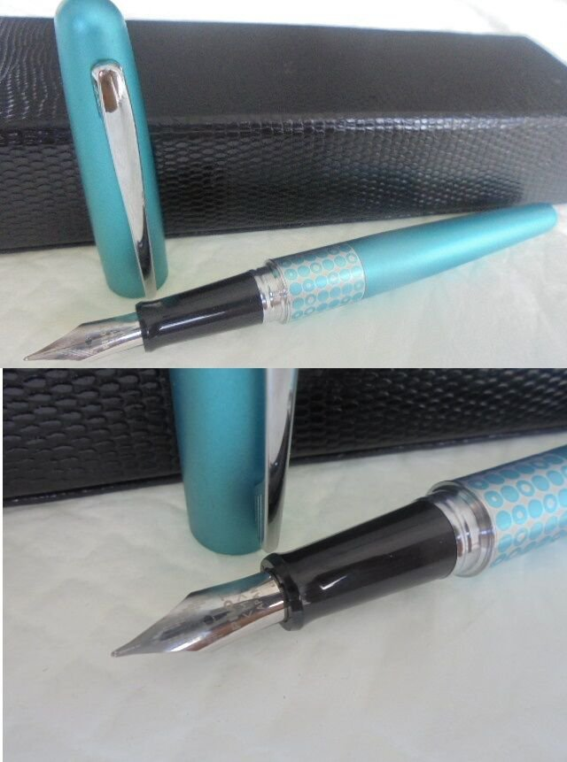 PILOT METROPOLITAN RETRO Pop Turquoise color fountain pen Original