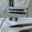 PAPERMATE ENTRY SET ball pen and fountain pen in black Original in gift box