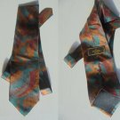 FENDI Italy TIE necktie in 100% SILK Original