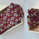 ALVIERO MARTINI 1 CLASSE Italy Original tie necktie 100% Silk in gift box j