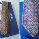 MARINELLA NAPOLI ITALY original tie in silk necktie in gift box