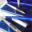 AURORA HASTIL fountain pen in sterling SILVER 925 and gold 14K Original in gift box