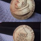 BRONZE MEDAL for the Beatification of Pope John Paul II engraved by Manfrini 2000 Original