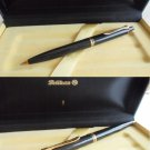 PELIKAN SOUVERAN K 400 black & gold K400 ball pen Original in gift box