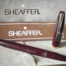 SHEAFFER STYLPOINT IMPERIAL fountain pen red color Original in gift box with garantee