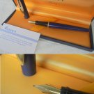 WATERMAN REFLEX fountain pen in blue color and gold Original in gift box