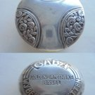 GABA GOLDENE APOTHEKE Basel Wybert Tabletten box in silver 800 original 1900s