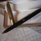 DIPLOMAT fountain pen Black and Gold 14K Original in gift box