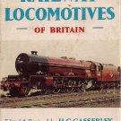 RAILWAY LOCOMOTIVES of BRITAIN The Observer's Book Casserley Original edition 1955