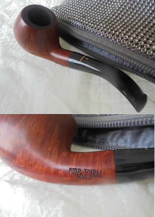 CROCI SIRO TAIOLI Pipe Hand Made smoked Original made in Italy