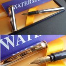 WATERMAN MAESTRO fountain pen in steel  Original in gift box with garantee