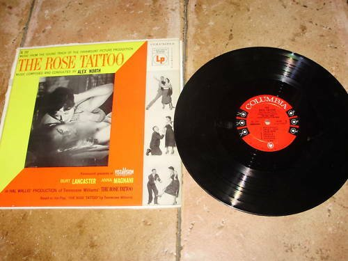 "12"" VINYL movie music The rose Tatoo Original Magnani Lancaster"