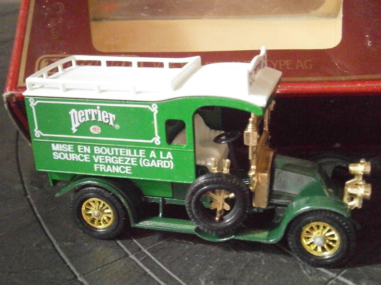 MATCHBOX Models YESTERYEAR Renault 1910 Type AG Y-25 Edition 1984 Perrier truck Original