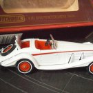 MATCHBOX auto car Y-20 MERCEDES BENZ 540K Edition 1984 scale 1:45 match box Original