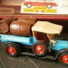 MATCHBOX Models YESTERYEAR beer truck CROSSLEY 1918 Y-26 Original edition 1984 in box