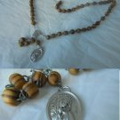 ROSARY necklace MATER DOLOROSA Original 1960s