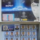 UEFA CHAMPIONS LEAGUE 2008 - 2009 sticker album Panini almost complete -2 stickers Original