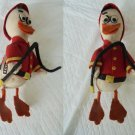 LENA SPAIN FIREMAN Duck Made with Lenci cloth Original 1950s