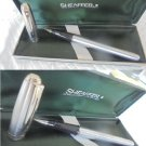 SHEAFFER PRELUDE Brushed Chromed Roller Ball Pen Original in gift box
