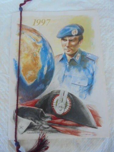 CALENDAR CARABINIERI Calendario ITALY Original from 1997 well kept with ribbon