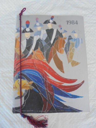 CALENDAR CARABINIERI Calendario ITALY Original from 1984 well kept with ribbon