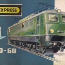 TRIX EXPRESS CATALOG 1959-60 trains Locomotives Models Original Italian edition