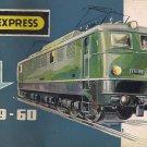 TRIX EXPRESS CATALOG 1959-60 trains Locomotives Models Original Italian edition