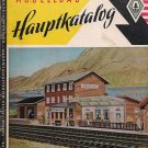 FALLER CATALOG 1958 trains house plains Models Original German edition