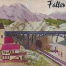 FALLER 857 CATALOG Original from 1957 German edition Planes bridges houses
