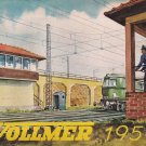 VOLLMER CATALOG Original from 1954 trains, locomotives, train stations, models German edition