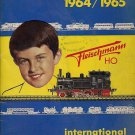 FLEISCHMANN CATALOG 1964-65 Original italian edition Trains, locomotives stations