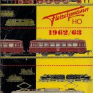 FLEISCHMANN CATALOG 1962-63 trains locomotives station Original Italian edition